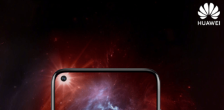 Huawei Nova 4 Official teaser display hole for selfie camera before its launch