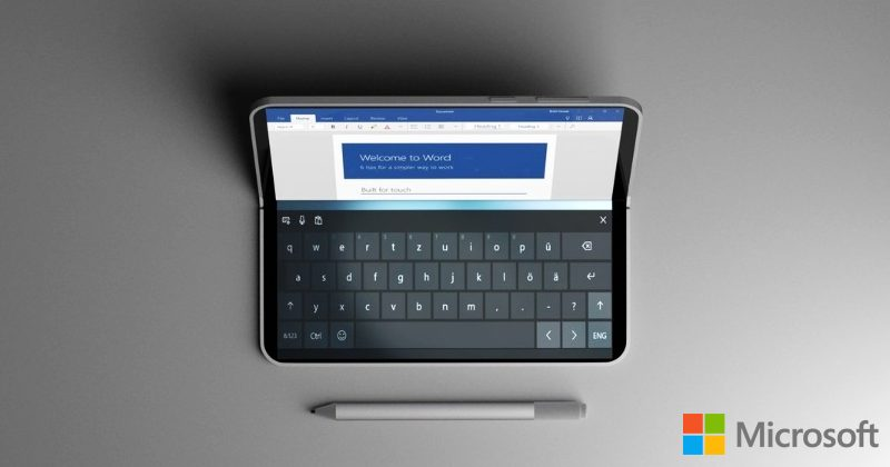 Microsoft Surface Centaurus might be a revolutionary dual-screen tablet