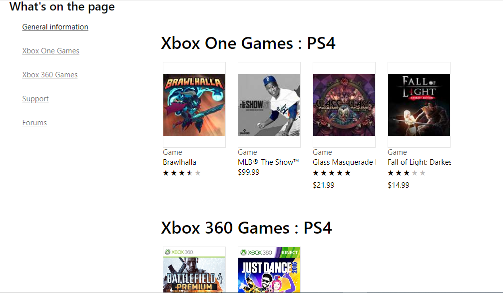 PS4 store and click the download button
