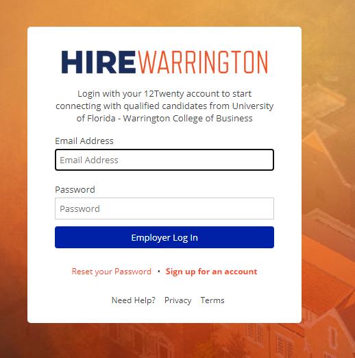 hirewarrington login