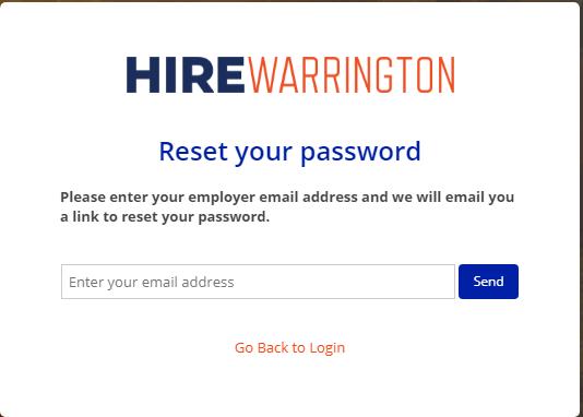 hirewarrington reset password