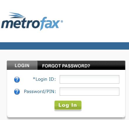 metrofax login
