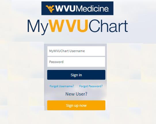 How To MyWVUChart login