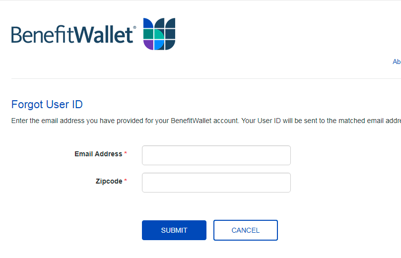 Forgot User ID, How To Recover Mybenefitwallet User ID?