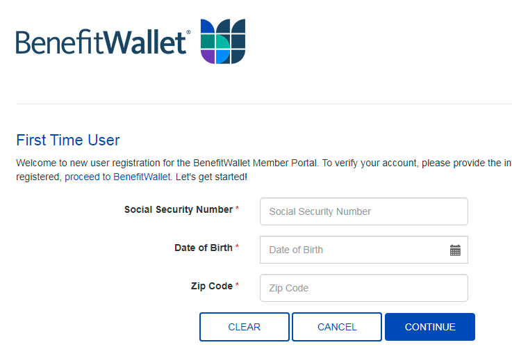 How To Register For Mybenefitwallet