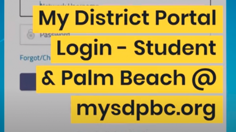 How To Make A MySDPBC @ Palm Beach Portal Login [Update]