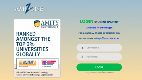 How To Register, Login And Manage Amizone Portal [Update]