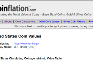Best Way To Check Coin Values Update Live Price With coinflation In 2021
